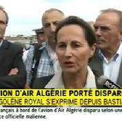 Air Algérie : «Une tragédie» pour Ségolène Royal