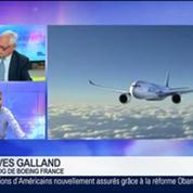 Boeing: Progression de 1% du chiffre d'affaires au premier trimestre, Yves Galland, dans GMB –