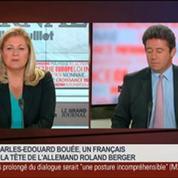 Charles-Edouard Bouée, nouveau président directeur général de Roland Berger, dans Le Grand Journal 2/4