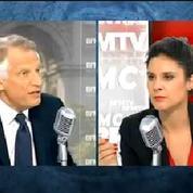 Proche-Orient : Villepin demande le déploiement de Casques bleus en Palestine
