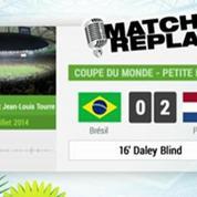 Brésil / Pays-Bas : Le match replay avec le son de RMC Sport !