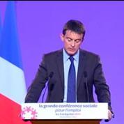 Conférence sociale : Valls annonce 200 millions d'euros d'aides pour l'apprentissage