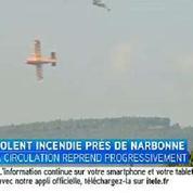 Incendie près de Narbonne, 200 héctares de garrique parti en fumée