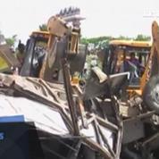 Inde : collision meurtrière entre un train et un bus scolaire