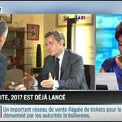 RMC Politique : Le grand retour politique de Nicolas Sarkozy commence par un contre-attaque –