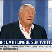 BFM Story: Crise à l'UMP: Rachida Dati tacle François Fillon sur Twitter –