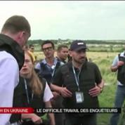 Crash MH17 : les enquêteurs empêchés par les rebelles ?