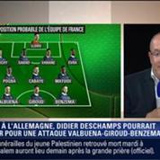 Le Soir BFM: France vs Allemagne: La composition probable des Bleus 6/7