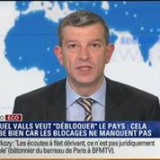 L'Édito éco de Nicolas Doze: Manuel Valls veut résister au lobbying et au corporatisme –