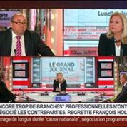 Édition spéciale sur le discours d'ouverture de François Hollande, dans Le Grand Journal 2/2