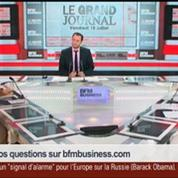 Tatiana Kastouéva-Jean et Benaouda Abdeddaïm, dans Le Grand Journal – 4/7