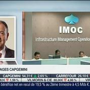 Capgemini: forte hausse de 36% du résultat net semestriel: Paul Hermelin, dans Intégrale Bourse –