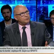 BFM Politique: L'interview de Michel Sapin, ministre des Finances et des Comptes publics, par Apolline de Malherbe