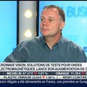 Microwave Vision lance une augmentation de capital: Philippe Garreau, dans Intégrale Bourse –