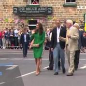 Kate et William donnent le départ du Tour de France