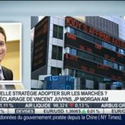 La progression des marchés est moins attractives: Vincent Juvyns, dans Intégrale Bourse