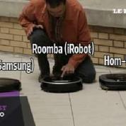 iRobot Roomba, Samsung Navibot, LG Hom-Bot : le test vidéo des aspirateurs robots