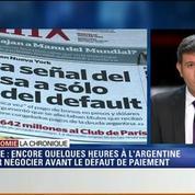 L'Éco du soir: Défaut de paiement: le compte à rebours s'accélère pour l'Argentine