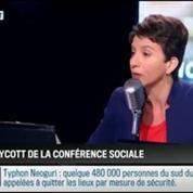 RMC Politique : La conférence sociale se poursuit sans la CGT et FO –