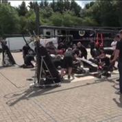 Formule 1 / Visite guidée avec Romain Grosjean