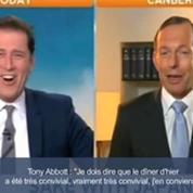 Le premier ministre australien évoque sa consommation d'alcool à la télévision