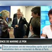 RMC Politique : Manifestation pro-Gaza: Marine Le Pen garde-t-elle volontairement le silence? –