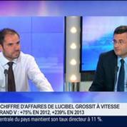 Spécialiste de la technologie LED, Lucibel vient de se côter à la bourse de Paris sur Alternext, Frédéric Granotier, dans GMB –