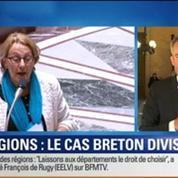 BFM Story: Carte des régions: le cas Breton divise –