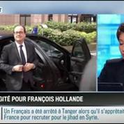 RMC Politique : Gestion des suites du crash du vol d'Air Algérie : François Hollande en fait-il trop ? –