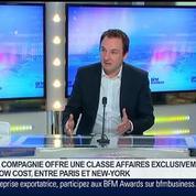 La Compagnie: une nouvelle compagnie aérienne privée typiquement française, Frantz Yvelin, dans GMB –