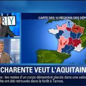 BFM Story: Réforme territoriale: la Charente veut être rattaché à l'Aquitaine –