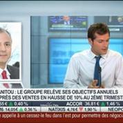 Manitou: le groupe relève ses objectifs annuels: Michel Denis, dans Intégrale Bourse –