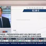 Dossier Lafarge-Holcim: Les deux groupes sont en train de faire avancer leur fusion: Thibault François, dans Intégrale Placements –