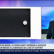 Le PSG a associé son image avec la marque de luxe ST Dupont, Alain Crevet, dans GMB –