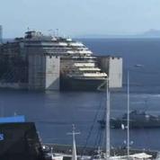Le départ du Costa Concordia de l'île du Giglio en time-lapse