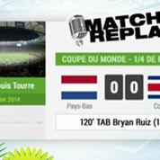 Pays-Bas Costa Rica : Le Match Replay avec le son RMC Sport !