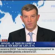 L'Édito éco de Nicolas Doze: Le taux du livret A passera le 1er août de 1,25% à 1%