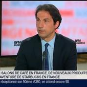 Olivier de Mendez, directeur général de Starbucks France, dans Le Grand Journal 3/4