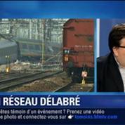 BFM Story: Déraillement de Brétigny: Un rapport d'enquête met en cause l'état du réseau ferroviaire