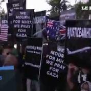 MH17 : Manifestations devant les ambassades de Russie et d'Ukraine à Kuala Lumpur