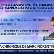 Marc Fiorentino: Regard sur le programme économique d'Arnaud Montebourg –