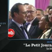 Zapping TV : quand François Hollande n'ose pas embrasser Ségolène Royal