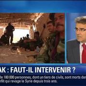 BFM Story: Faut-il s'engager militairement en Irak ?