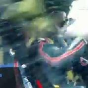 Chute spectaculaire au rallye d'Allemagne