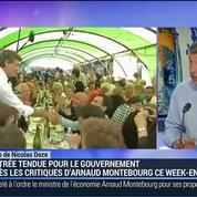 Nicolas Doze: Rentrée tendue pour le gouvernement: Montebourg veut un changement de cap –