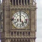 Londres : le nettoyage de Big Ben en accéléré