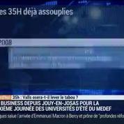 35h: Valls osera-t-il lever le tabou ?, dans Les Décodeurs de l'éco 2/3