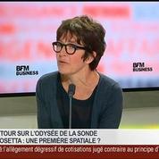 Dominique Bockelée-Morvan, directrice de recherche du CNRS à l'Observatoire de Paris, dans Le Grand Journal – 2/7