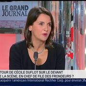 Caroline Michel et Benjamin Masse-Stamberger, dans Le Grand Journal 7/7