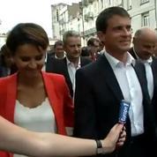 Valls apprécie les gaufres lilloises d'Aubry